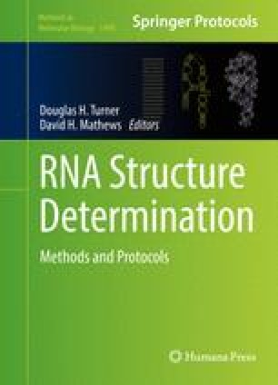 Mapping RNA Structure In Vitro with SHAPE Chemistry and Next ...
