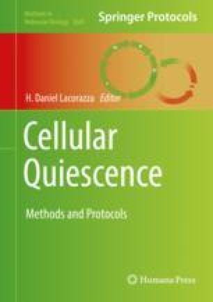 Cellular Quiescence