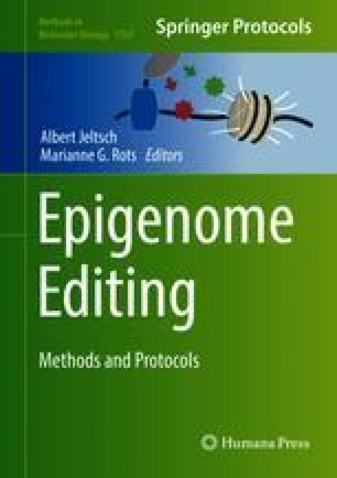 Epigenome Editing