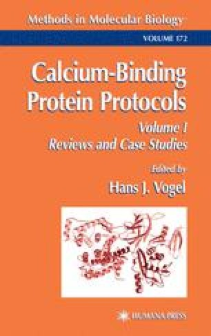 Calcium-Binding Protein Protocols