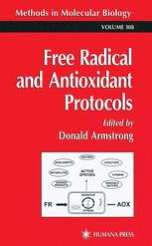 Free Radical and Antioxidant Protocols