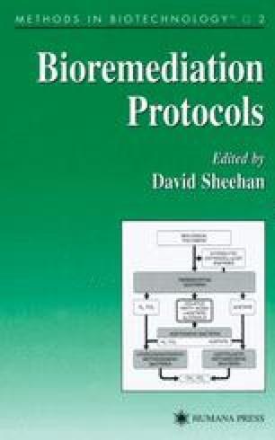 Bioremediation Protocols
