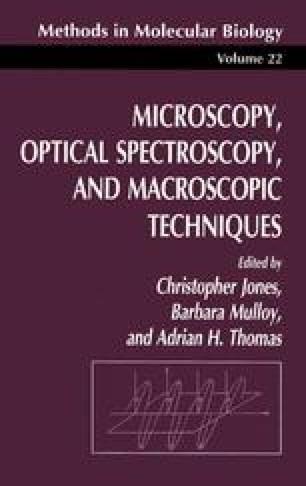 Microscopy, Optical Spectroscopy, and Macroscopic Techniques