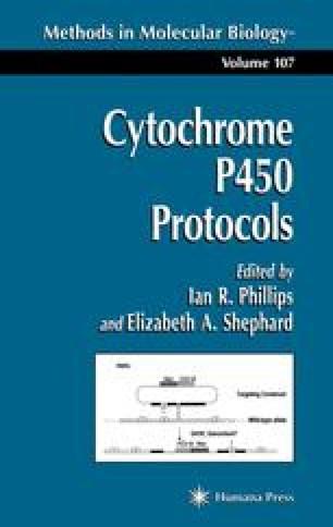 Cytochrome P450 Protocols