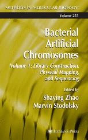 Bacterial Artificial Chromosomes