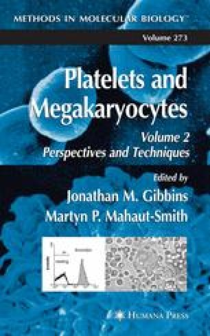 Platelets and Megakaryocytes