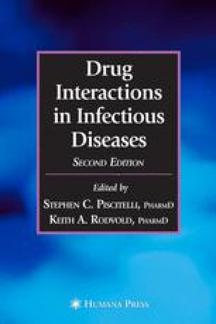 Drug Interactions in Infectious Diseases