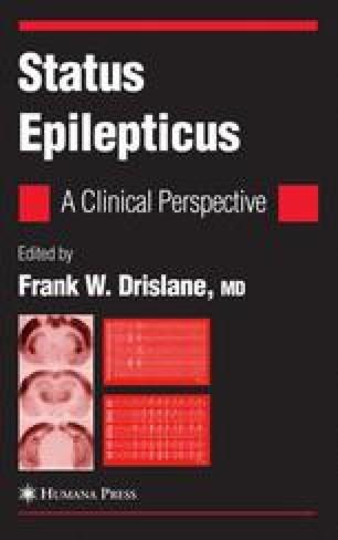 Clinical Presentations of Nonconvulsive Status Epilepticus