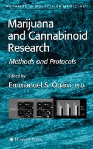 Marijuana and Cannabinoid Research