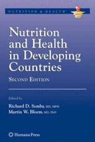 Nutrition and Health in Developing Countries