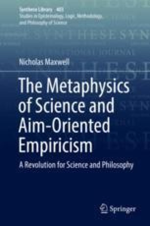 Chapter 1 Early Work on the Metaphysics of Science