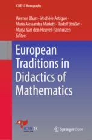 Didactics of Mathematics as a Research Field in Scandinavia ...