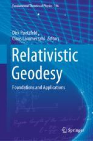 Time and Frequency Metrology in the Context of Relativistic