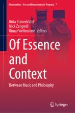 Musical Images in the Tanakh: Between Their Essence, Context and