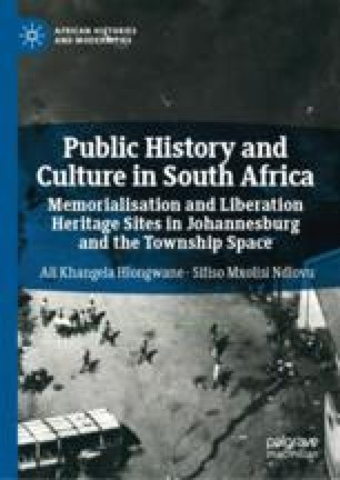 Remembering Sharpeville Day and Fashioning Contested National