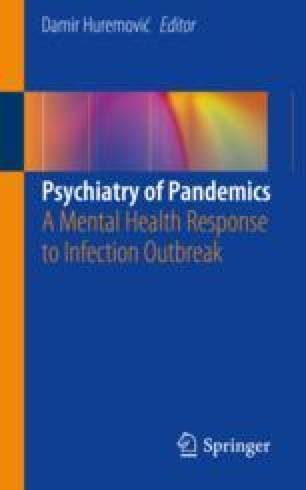 Cover of the book Psychiatry of Pandemics