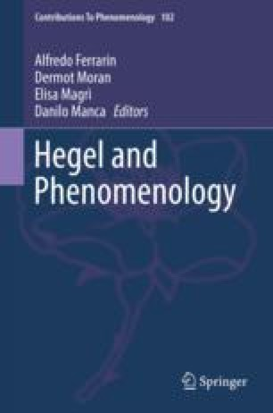 Ricœur as a Reader of Hegel: Between Defiance and Nostalgia