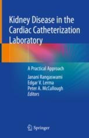 Kidney Disease In The Cardiac Catheterization Laboratory Springerlink