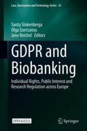 Brexit and Biobanking: GDPR Perspectives | SpringerLink