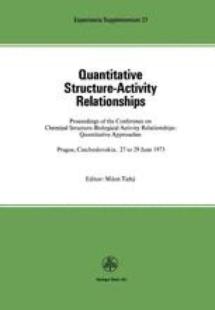 Quantitative Structure-Activity Relationships