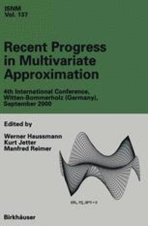 Recent Progress in Multivariate Approximation