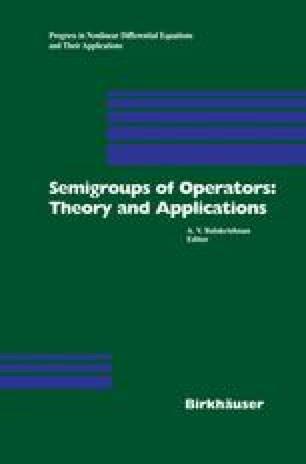 Semigroup Theory and Operator Trigonometry | SpringerLink