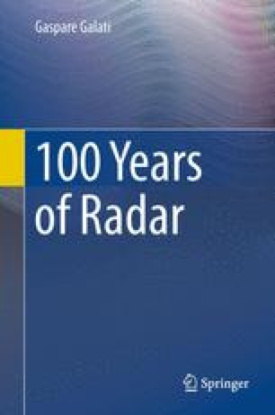 The Radar Flies: Birth and Development of Airborne and of