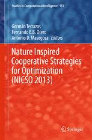Nature Inspired Cooperative Strategies for Optimization (NICSO 2013)