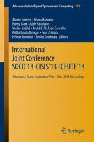 International Joint Conference SOCO'13-CISIS'13-ICEUTE'13