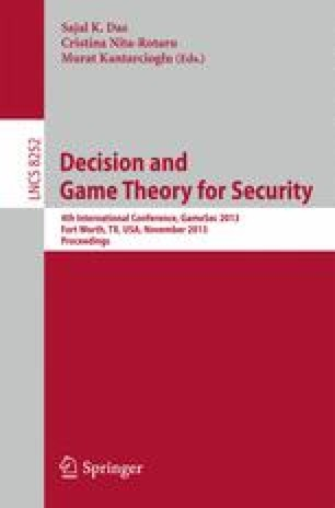 Decision and Game Theory for Security