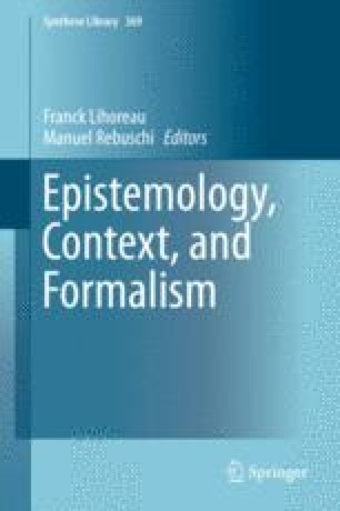 Epistemology, Context, and Formalism
