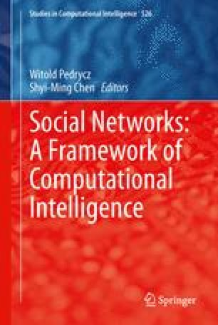 Social Networks: A Framework of Computational Intelligence