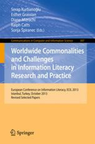 Worldwide Commonalities and Challenges in Information Literacy Research and Practice