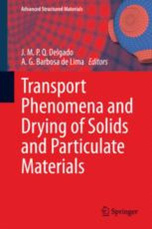 Convective drying of food foundation modeling and applications transport phenomena and drying of solids and particulate materials fandeluxe Choice Image