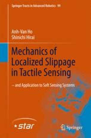 Mechanics of Localized Slippage in Tactile Sensing