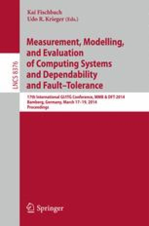 Measurement, Modelling, and Evaluation of Computing Systems and Dependability and Fault Tolerance