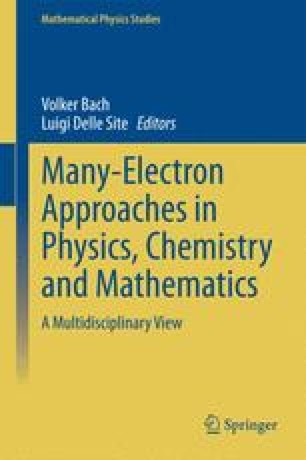 Many-Electron Approaches in Physics, Chemistry and Mathematics