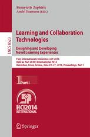 Learning and Collaboration Technologies. Designing and Developing Novel Learning Experiences