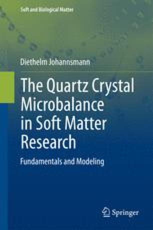 The Quartz Crystal Microbalance in Soft Matter Research