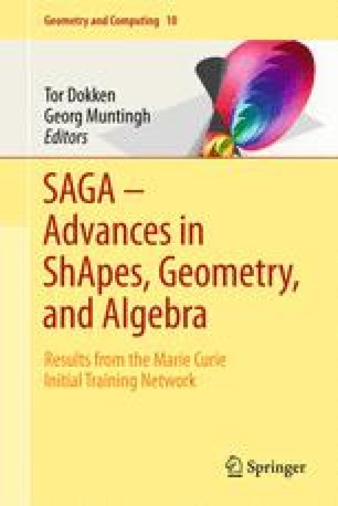 SAGA – Advances in ShApes, Geometry, and Algebra