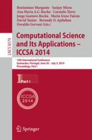 Computational Science and Its Applications – ICCSA 2014