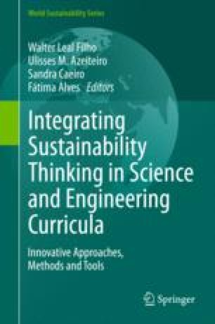Integrating Sustainability Thinking in Science and Engineering Curricula