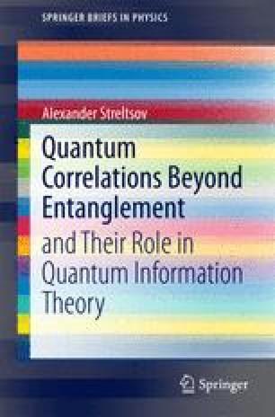 Quantum Discord in Quantum Information Theory | SpringerLink