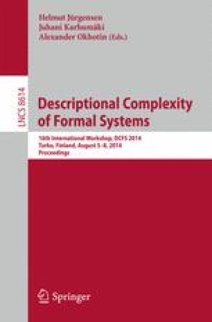Descriptional Complexity of Formal Systems