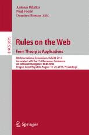 Rules on the Web. From Theory to Applications