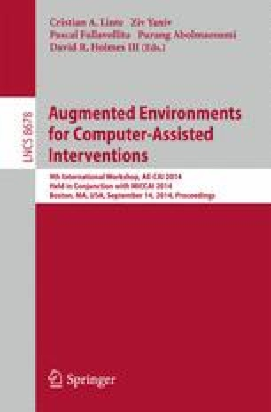 Augmented Environments for Computer-Assisted Interventions