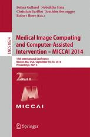 Medical Image Computing and Computer-Assisted Intervention – MICCAI 2014