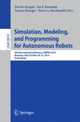 Simulation, Modeling, and Programming for Autonomous Robots