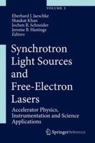 Synchrotron Light Sources and Free-Electron Lasers