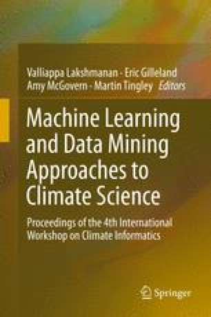 Machine Learning and Data Mining Approaches to Climate Science